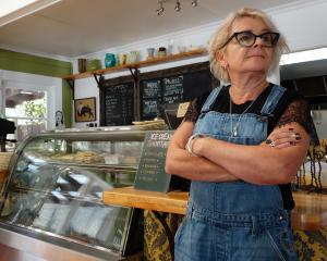 Kurow cafe owner Jane Crashley, who owns Wild Sage, says a downturn amid Covid-19 concerns is...