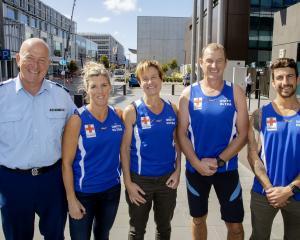 Chris Davies (team manager) Helen Mahon-Stroud, Fiona Croft, Jeremy Gunn and Chris Dunell are...