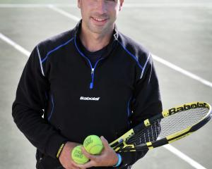 New Tennis Otago operations manager Alvaro Fuente pictured at the organisation's headquarters at...