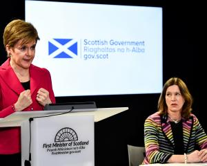 First Minister Nicola Sturgeon (left) and former Chief Medical Officer Dr Catherine Calderwood....