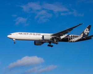 An Air New Zealand Boeing 777. Photo: Getty
