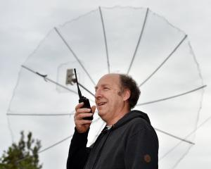 Amateur radio operator and New Zealand Association of Radio Transmitters Otago branch president...
