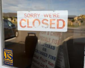 Fish and chip shops are closed under the Covid-19 lockdown. Photo: RNZ / Nate McKinnon