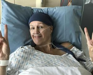 Former Canterbury Flame and Bahrain netball captain Kelly Hutton is in good spirits after surgery...