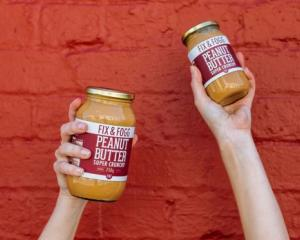 Wellington's Fix and Fogg have seen their demand for their peanut butter soar. Photo: Supplied