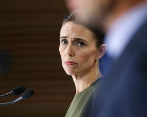 "Prime Minister Jacinda Ardern says there is reason to be ""cautiously optimistic"". Photo: Getty..."