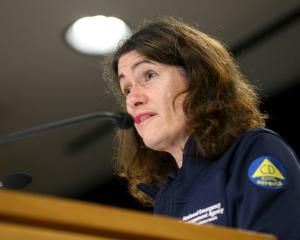 Director of Civil Defence Emergency Management Sarah Stuart-Black. Photo: Getty