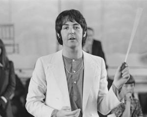 Sir Paul McCartney in 1968. Photo: Getty Images