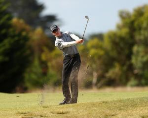 Queenstown golfer James Anstiss. Photo: Getty Images