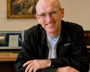 2020 Robert Burns Fellow Dr John Newton. PHOTO: SUPPLIED