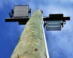 New lighting poles and lights have been installed at Peter Johnstone Park in Mosgiel as part of a...