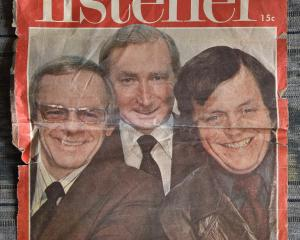 The faces of the news, Bill Toft, Philip Sherry and Dougal Stevenson.