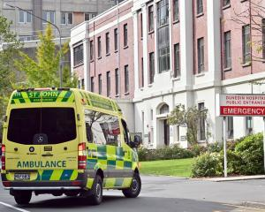 It was announced today there was a confirmed Covid-19 case in Dunedin Hospital. Photo: Christine...