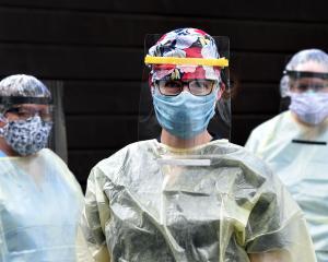 Secure service ... Aurora Health Centre staff members (from left) nurse Philippa Henry, GP Ingrid...