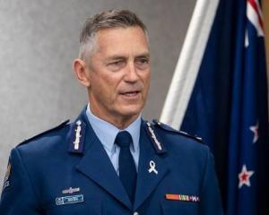 Police Commissioner Mike Bush. Photo: NZ Herald