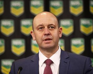 NRL chief executive Todd Greenberg. Photo: Getty Images