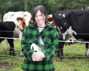 The Natural Dairy co-owner Bethan Moore has been increasing home deliveries of the company's...