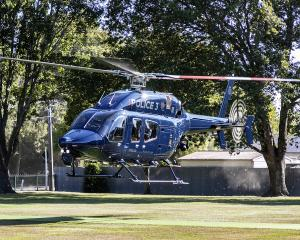 The Eagle helicopter. Photo: NZ Police