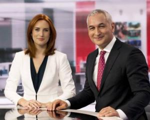 News presenters Samantha Hayes and Mike McRoberts. MediaWorks staff have been asked to take a pay...