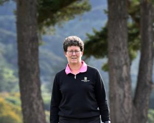Otago Golf Club director Shelley Duncan prepares for the sport's return. PHOTO: PETER MCINTOSH
