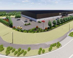 The proposed Netsal Centre. Image: Newsline / CCC