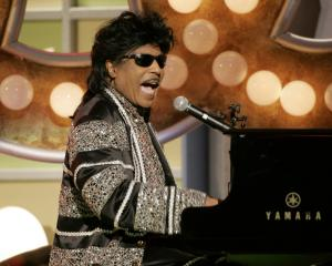 Little Richard performs in Santa Monica, California in March 2005. Photo: Reuters