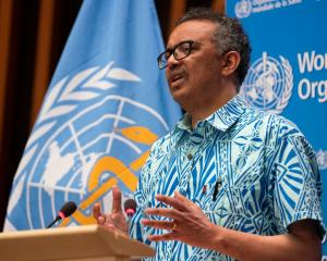 WHO Director General Tedros Adhanom Ghebreyesus. Photo: Reuters