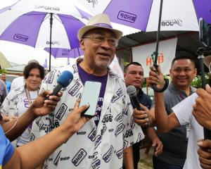 Suriname's President Desi Bouterse of the ruling National Democratic Party. Photo: Reuters