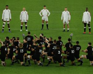 The All Blacks may confront the memories of their World Cup loss to England with a potential...