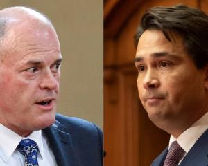 Todd Muller, left, is publicly challenging Simon Bridges for the National leadership. Photos: NZ...