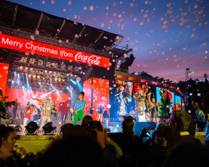 The 2020 Coca-Cola Christmas in the Park has been cancelled. Photo: Richard Linton