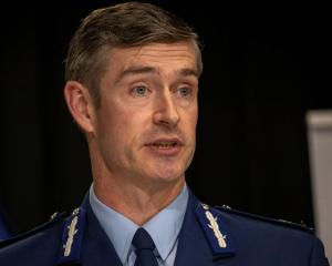 Police Commissioner Andrew Coster. Photo: Pool / NZME