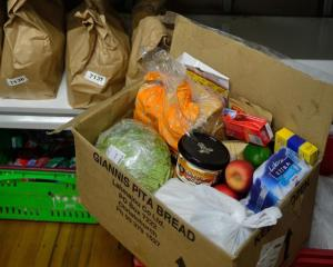 The number of food parcels handed out by the Auckland City Mission is climbing Photo: RNZ