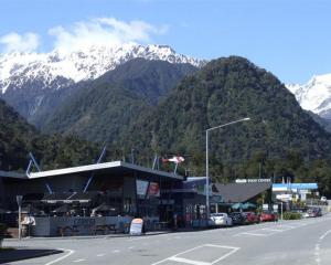 Franz Josef township is nestled beneath the Southern Alps on the West Coast and surrounded by...