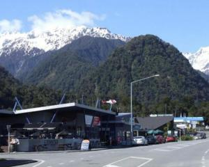 Franz Josef Civil Defence team member Mike Nolan estimated over half the Franz Josef population...