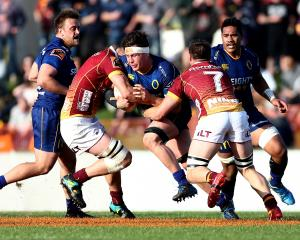 Dylan Nel in action for Otago during a Mitre 10 Cup game in 2018 against Southland. Photo: Getty...