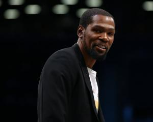 Kevin Durant could return if the NBA is to resume after the Covid-19 break. Photo: Getty Images
