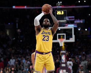 Los Angeles Lakers forward LeBron James. Photo: Getty Images