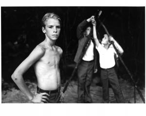 A scene from the film 'Lord Of The Flies', 1990. Photo: United Artists/Getty Images