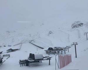 Mt Hutt Ski Area received 15 to 20 cm of snow on Monday, a good sign for the season to come....