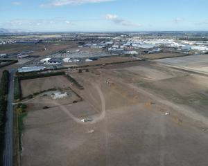 Ngāi Tahu Property's industrial development on Hoskyns Rd in Rolleston. Photo: Supplied