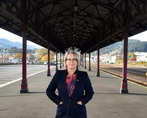 Advocating local food ... Otago Farmers Market general manager Kate Vercoe hopes the Dunedin City...