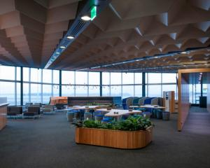 Air New Zealand's Koru Lounge has reopened. Photo: Supplied