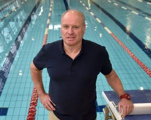 Swim Dunedin coach Lars Humer at his office — Moana Pool — earlier this week. He has been named...
