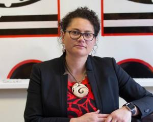 Sitting Manurewa MP Louisa Wall. Photo / Mark Mitchell