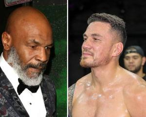 Mike Tyson v Sonny Bill Williams? Photo: NZ Herald
