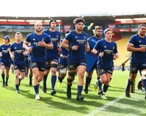 The Otago rugby team has a tough stretch coming up. Photo: Getty Images
