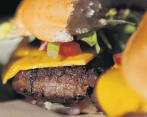 A vegan vegetable burger. PHOTO: GETTY IMAGES