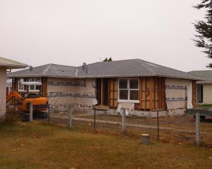On the move ... A house at 106 Centennial Ave, Alexandra, is being prepared for relocation to...