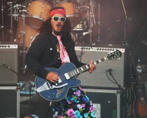 Guitarist and singer Aaron Topkona has died. Photo: Melissa Cowan via NZ Herald